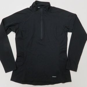 Patagonia Capilene 3 Baselayer Shirt 1/2 Zip Black